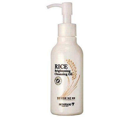 Skin Food - Rice éclaisissant Cleansing Oil - Huile pour le visage avec extrait de riz - reinigungsöl pour les hommes et les femmes - Soin du Visage/Soin de Jour