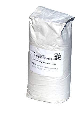 Terra Forma Lehmgrundputz mit Stroh 25 kg