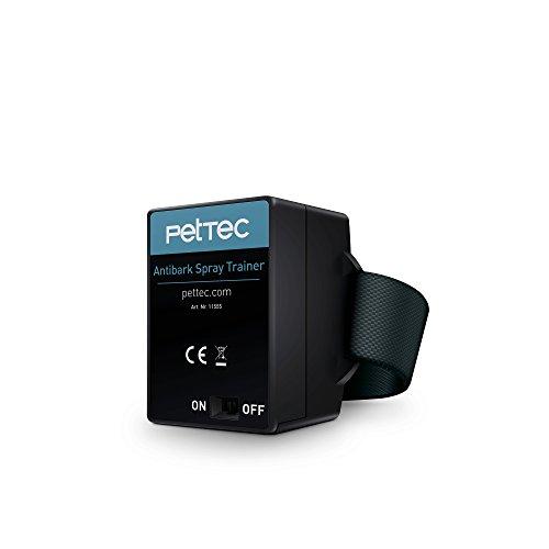 PetTec Antibell Spray Trainer Pro Erziehungshalsband mit automatischer Sprühfunktion inkl. Antibell Spray + 1 Gratisspray - 2