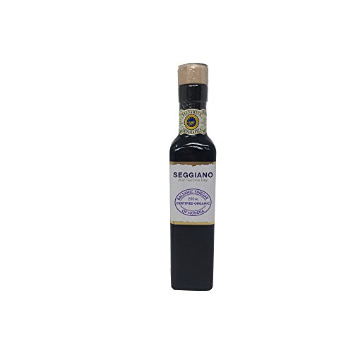 Seggiano Organic Matured Balsamic Vinegar of Modena, 250 ml
