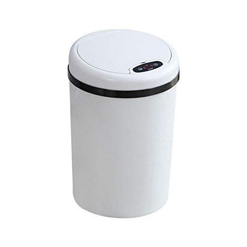Haushalts intelligente Sensor Mülleimer Intelligente Induktion Clamshell Mülleimer automatische automatische Mülleimer mit Deckel Wohnzimmer Schlafzimmer Küche und Bad