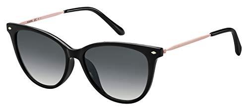 Fossil Damen Fos 3083/S Sonnenbrille, Mehrfarbig (Black), 54