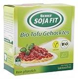 Berief Soja Fit - Bio Tofu Gehacktes Soja laktosefrei vegan - 180g