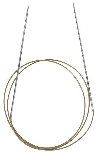 Addi 775-7 Rundstricknadel Lace, vernickelt 100 cm, 2 mm (Addi Stricknadeln 7)