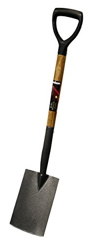 Rolson 82641 Bêche de bordure avec manche en bois de frêne