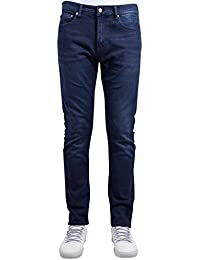 Calvin klein skinny stmic structured mid comfort blue jeans
