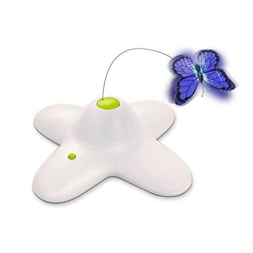 Toy Laser Pet (Cat Toys, minve Elektrische drehendem Schmetterling Interaktives Katzenspielzeug)