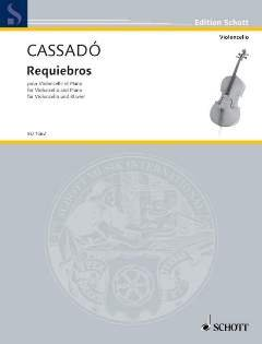 Gaspar Cassado: Requiebros In D. Für Cello, Klavierbegleitung (Cello Requiebros)