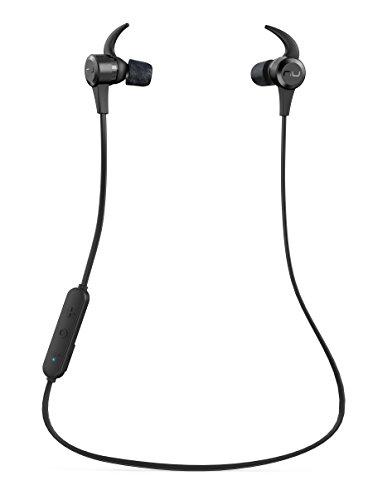 Optoma NuForce BE Live5 Ecouteurs Audiophiles Premium sans fil, avec micro, 8h d'autonomie, supporte AAC & aptX, Large Drivers Graphène 8mm compatible avec Android et ios.