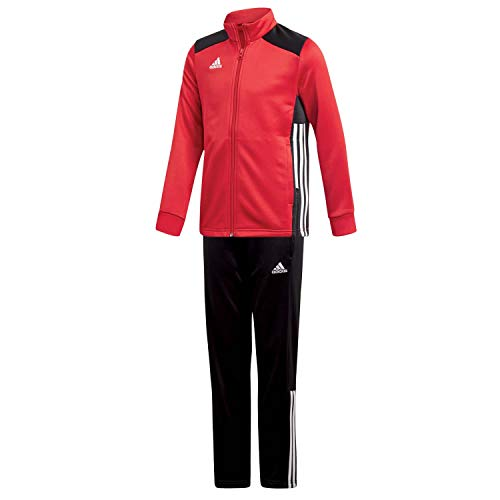 adidas Kinder Polyesteranzug Trainingsanzug Regista 18 POWRED/Black 152