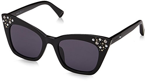 Max Max & Co. Damen CO.355/S IR 807 49 Sonnenbrille, Black/Gy Grey,