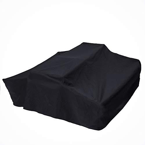 JINHUGU 1,4 m Reiseabdeckung Dachgepäckträger Top Zelt für Wohnmobil Anhänger wasserdicht 4X4 Rack schwarz New -