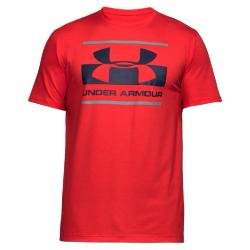 Under Armour Herren Blocked Sportstyle Logo Kurzarmshirt ROUGE