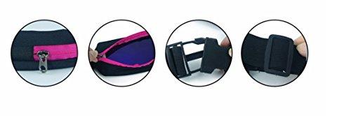 stryser, Gürteltasche universal, Gürtel-Running, Sport, Korridore, Rennen, Radfahren Rosa