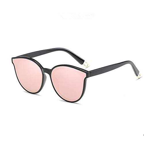 GJYANJING Sonnenbrille Zukunft Mode Frauen Farbe Luxus Flat Top Cat Eye Sonnenbrille Sonnenbrille Männer Twin Beam Sonnenbrille Legierung Rahmen Uv400