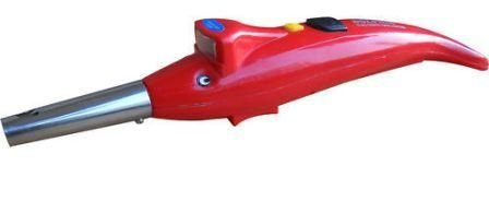 CPEX 2 In 1 Kitchen Dolphin Shape Electronic Gas Lighter With Led Torch (Multi Color)