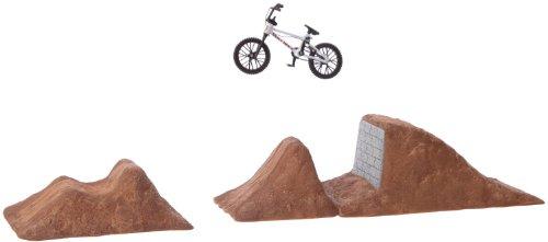 Imagen principal de Flick Trix Step Up - Juego de bicicleta en miniatura y rampas [Importado de Alemania]