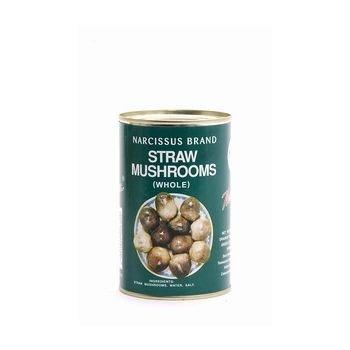 [ 425g / 200g ATG ] DIAMOND Reisstrohpilze, ganz / Straw Mushrooms, whole