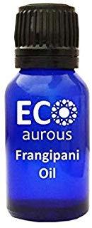 Ginger Essential Blend (Frangipani Oil (Plumeria) 100% Natural, Organic & Vegan Frangipani Essential Oil | Pure Frangipani Oil By Eco Aurous (10 ML))