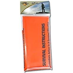 Bushcraft BCB - Saco de vivac, Color Naranja, Talla DE: 720 x 915 x 1830 mm