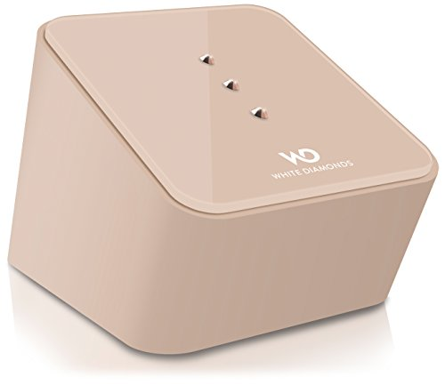 White Diamonds Swarovski WDCSPRG - Altavoz portátil Bluetooth, dorado