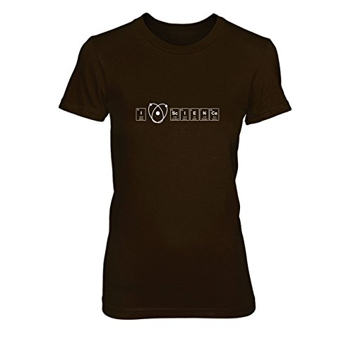 Elements Science Love - Damen T-Shirt Braun