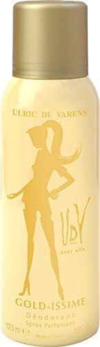 ULRIC DE VARENS Gold-Issme Deodorant 125ml