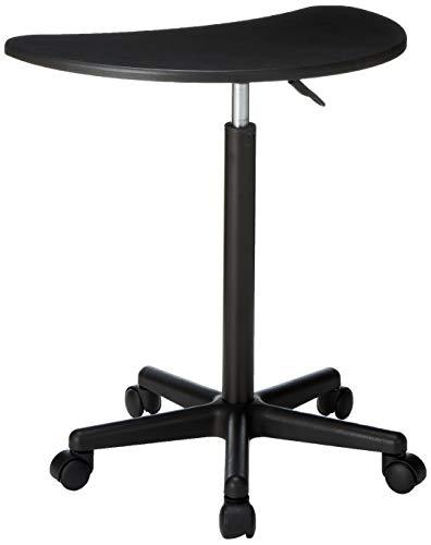Flash Furniture Höhe verstellbar Mobile Laptop-Computertisch mit schwarzer Spitze -