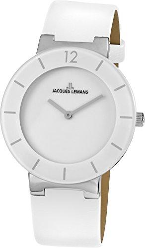 Jacques Lemans Unisex Watch Analogue Quartz Leather 40–7B