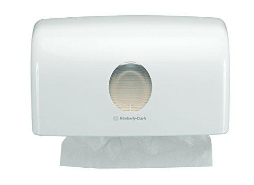 Preisvergleich Produktbild AQUARIUS 6956 Spender für gefaltete Handtücher, Hochglanzoberfläche
