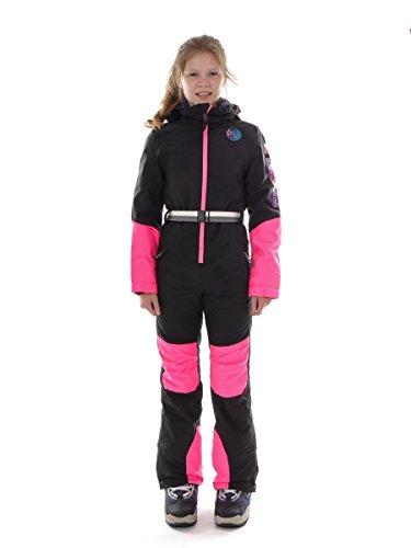 O'Neill Skioverall Schneeanzug Skianzug Out Of Control schwarz Neon (152)