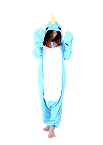 orn PyjamaTier Kostüme Halloween Jumpsuit Erwachsene Schlafanzug Unisex Cosplay ()