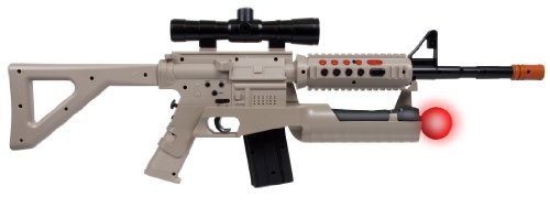 PS3 & Move Assault Rifle Controller