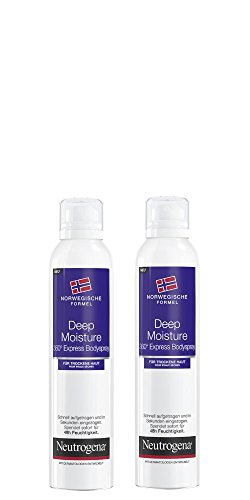 Neutrogena Árbol de Fórmula Deep Moisture Express Body Spray, 2 unidades (2 x 200 ml)