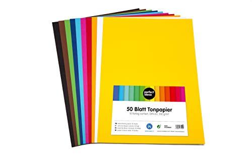 Farbiger Blatt Fotokarton