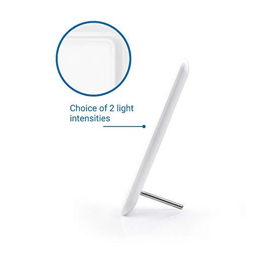Medisana LT 460 - Lampe de Jour, Luminothérapie Contre la Depression - Simule la Lumière du Jour - 10.000 Lux - Efficacité Thérapeutique Prouvée Contre les Troubles de Dépression Saisonnière - 45220