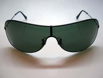 Lunettes de soleil ray ban masque large modele mixte protection 100% uv 400 indice 3