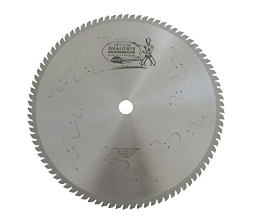Super-Ferro-Zahn Kreissägeblatt für Trockenschnitte - Ø 355 mm x 2,4/2,0 mm x 25,4 mm; 90 Zähne; DryCutter, Kunststoff, Aluminium, Edelstahl (355 x 2,4/2,0 x 25,4 mm)