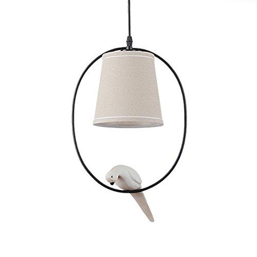 TOOGOO Retro singolo testa uccello lampadario paese americano personalita' corridoio camera da letto soggiorno illuminazione studio ristorante lampadari