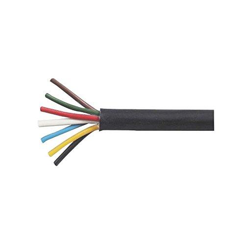 Universalkabel Anhängerkabel 12/24 Volt Gummi-Isolierung 7-adrig - Meterware