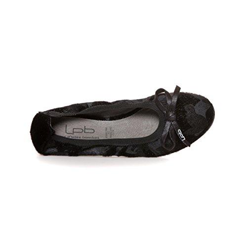 P Scarpe noir Ballerina Nero bombe Lpb Edelweiss SXxqgwd77