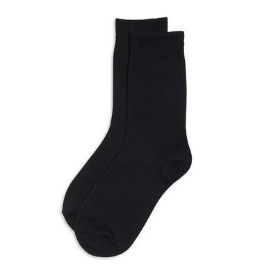 6 x BRITWEAR® Kids Children Boys Girl Cotton Rich Plain School Socks Size:9-12 Colour:Black