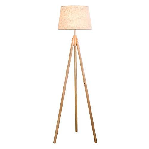 QPSGB Lámpara de pie: diseño Elegante con Accesorio de Cubierta de Vidrio...