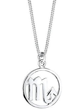 Elli Damen-Kette mit Anhänger Sternzeichen - Skorpion 925 Sterling Silber 01503809_45