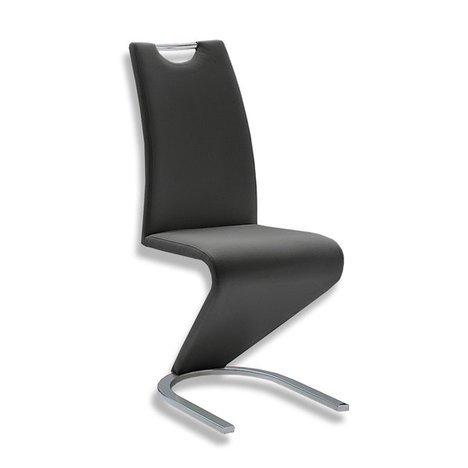 Mister-Meubles Chaise de salle à manger Design LYDIA coloris noir (Lot de 2)
