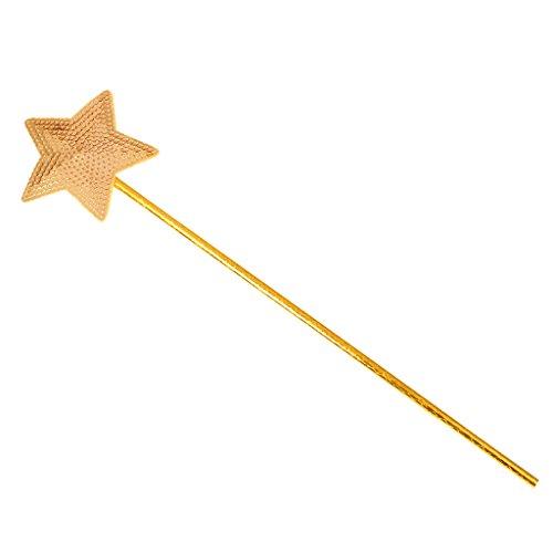 Zauberstab Kinder Stern (MagiDeal Zauberstab Feenstab Fee Prinzessin Fasching Kostüm Party Kindergeburtstag für Mädchen -)
