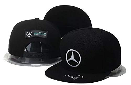 Gorra Mercedes ((Motorsport Racing Wear)) (Visera Plana Snapback. Petr