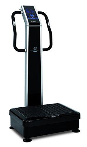 BH Fitness Vibrationsplattform Vibrationsplatte VIB, Schwarz, YV25