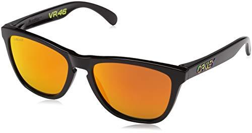 Oakley Herren Sonnenbrille Frogskins Schwarz (Negro) 55
