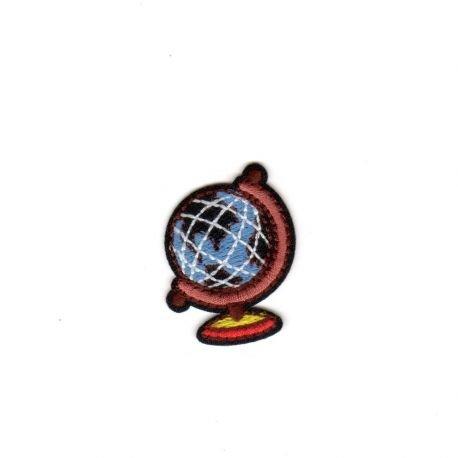 Ecusson-zum Aufbügeln Schule Globus